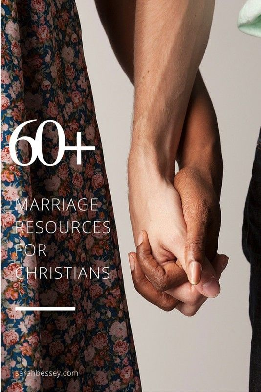 60+ Marriage Resources for Christians