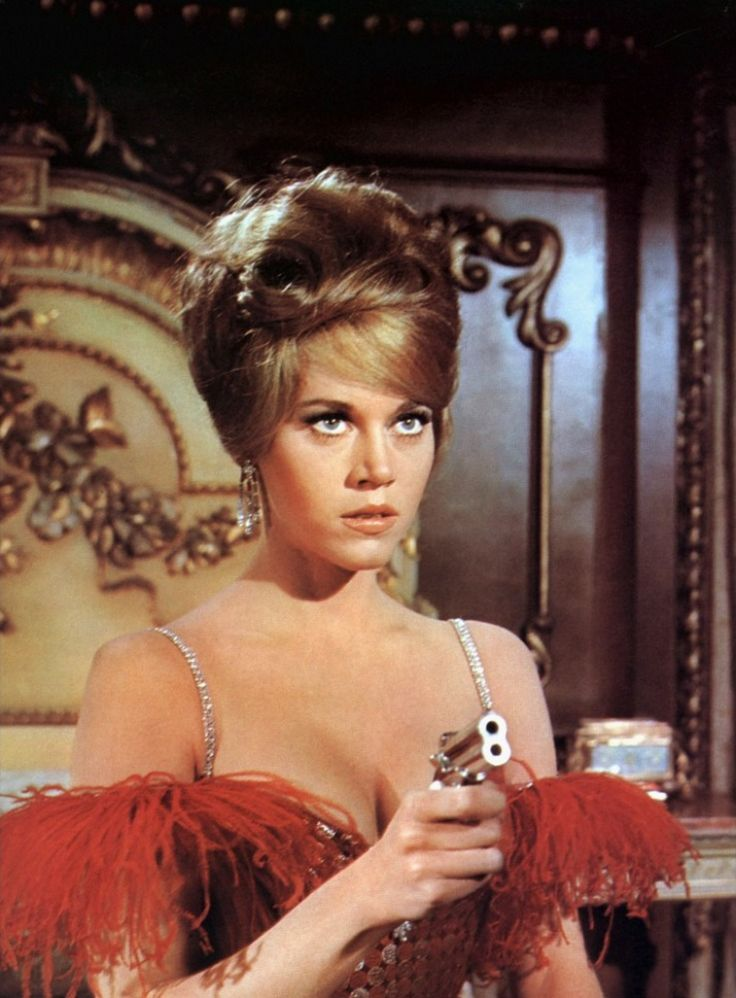 "Jane Fonda in ""Cat Ballou"""