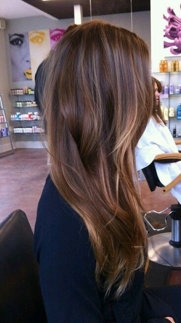 natural looking ombre