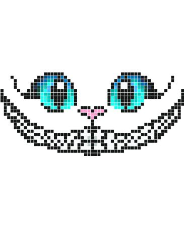Stickaz - Cat with big blue eyes & happy smile
