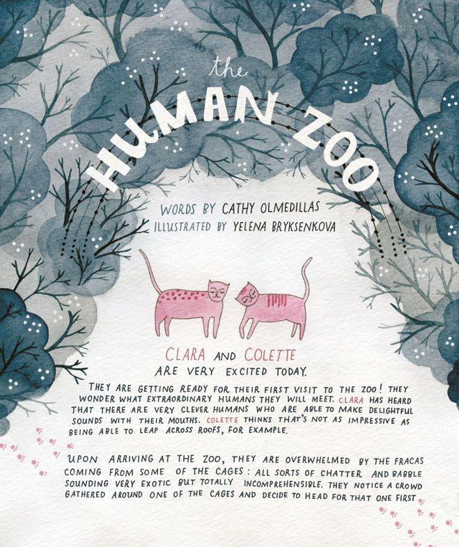 the human zoo - yelena bryksenkova