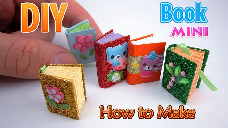 How To Make A Book Mini : Best images about dollhouse diy miniatures more for