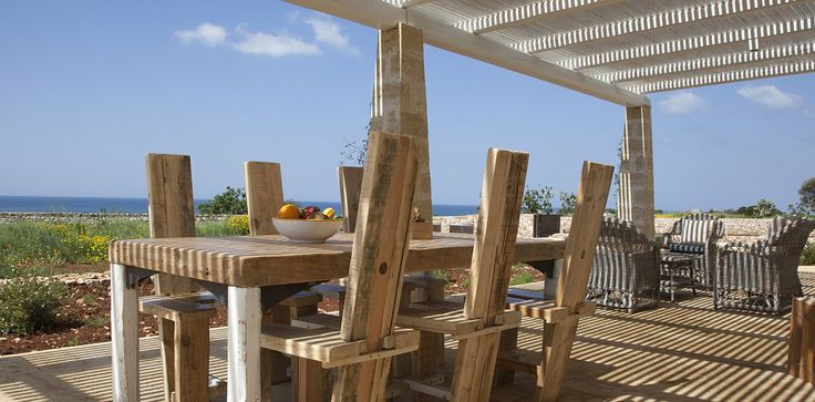 Villa Elia: Pergola sea view http://www.salentodolcevita.com/immobile.php?lang=2&id_str=418&str=+Villa+Elia