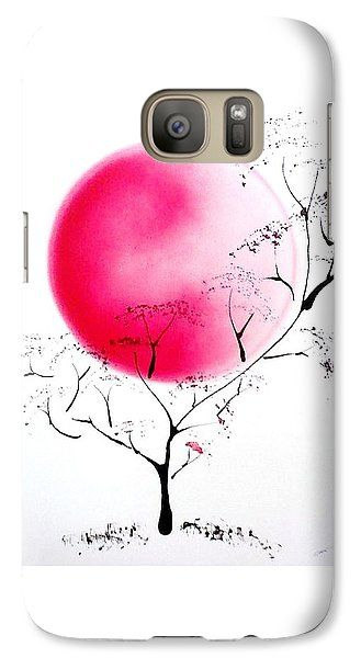 Joy Of Life Galaxy S7 Case Printed with Fine Art spray painting image Joy Of Life by Nandor Molnar (When you visit the Shop, change the orientation, background color and image size as you wish)