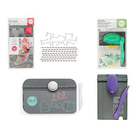 Shop We R Memory Keepers Best of Punch Boards Bundle 1839923, read customer reviews and more at HSN.com.