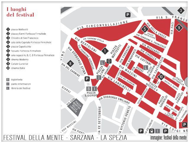 Festival della Mente - Sarzana - La Spezia - Albergo Al Ponte Antico Carrodano - I Luoghi del Festival