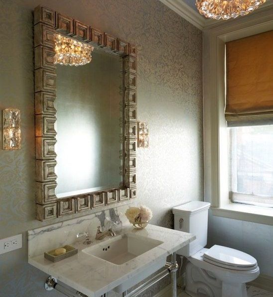 Accent Wall Bathroom: 17 Best Ideas About Wallpaper Accent Walls On Pinterest