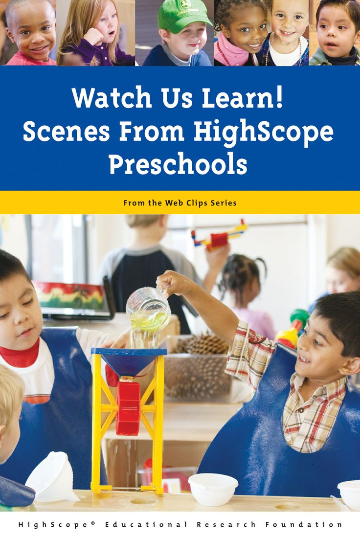 The High/Scope Preschool Curriculum Comparison Study ...