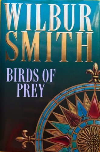 Birds-of-Prey-by-Wilbur-Smith-excellent-condition-used-hardcover-with-dustjacket
