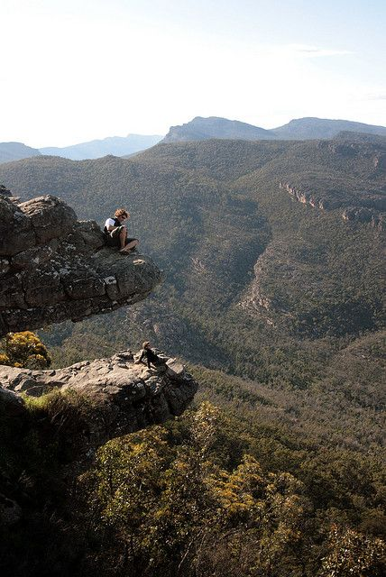 The Balconies in Grampians National Park, Australia (by pumanski).