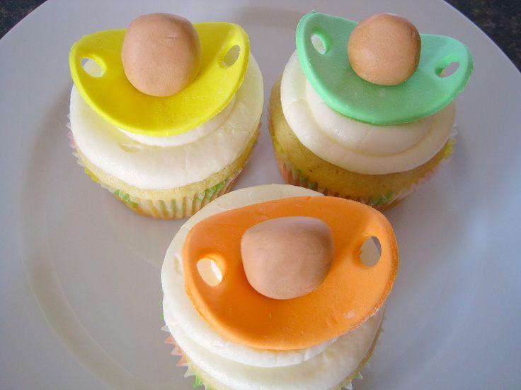 Sweet Escape: Pacifier Cupcakes