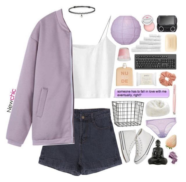 """""""NewChic 27"""" by blonde-scorpio-xo ❤ liked on Polyvore featuring BERRICLE, H&M, Bobbi Brown Cosmetics, Sephora Collection, Araks, COSTUME NATIONAL, Anastasia, Dot & Bo, Sheridan and Dorothy Perkins"""