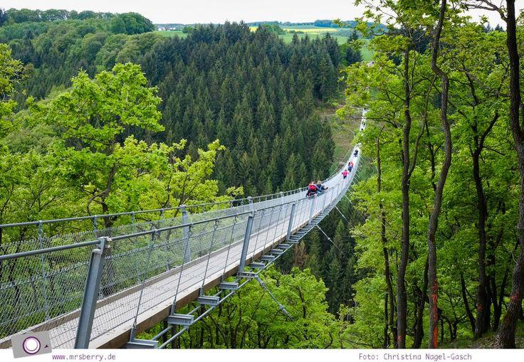Tagesausflug zu Deutschlands längster Hängeseilbrücke - Geierlay im Hunsrück | MrsBerry - Leben und Reisen mit Kind