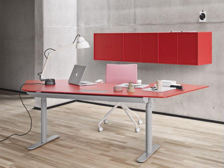 Hohenverstellbare Schreibtische Montana Einzeln Schreibtisch Tisch Buro Arbeitsplatz