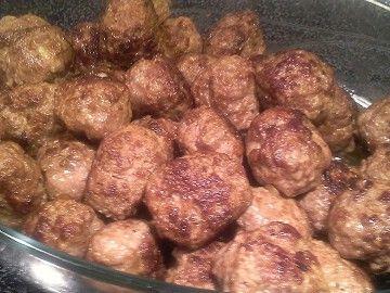 Klassiska köttbullar, mjölk och äggfri, fritt från sädesslag - Mera matglädje med matallergi