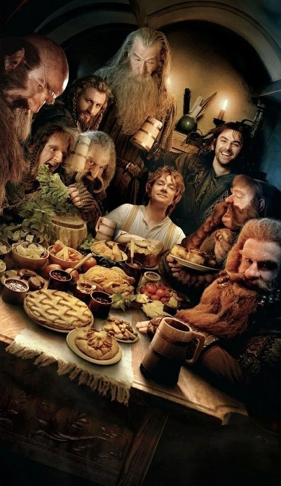 The Hobbit: An Unexpected Journey. Rewatched this a few days before I went to see the second film. :)