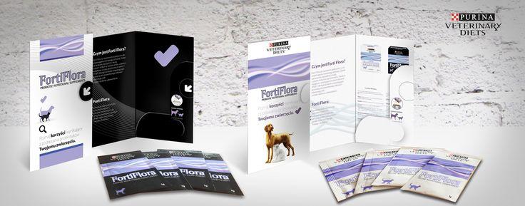 FortiFlora (Purina Veterinary Diets) - promo packaging.