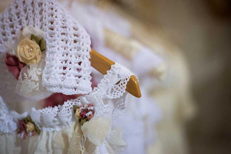Boho christening dress by bambolino