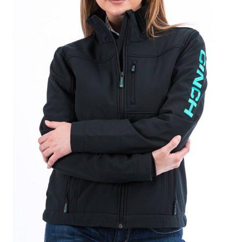 Cinch - Women's Concealed Carry Black Bonded Jacket