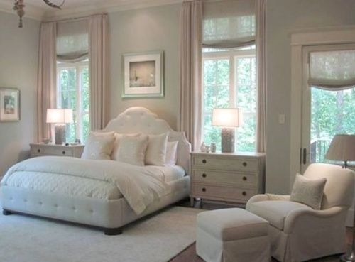 all the king's houses & all the king's men.  Bed frame and soothing colors