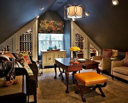 Cotswold New Construction, Traditional Wine Cellar, Charlotte