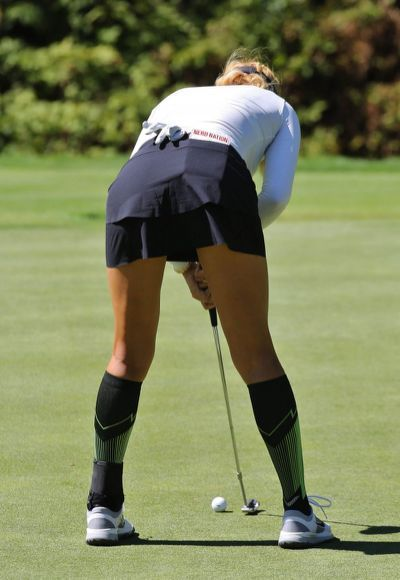 Michelle Wie Shows Off New Her