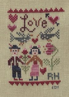 Renee's Stitching: Birds of a Feather Love
