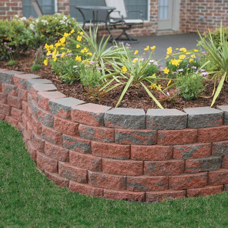 Raised Bed Retaining Wall: 12 Best Raised Ranch Landscaping Images On Pinterest