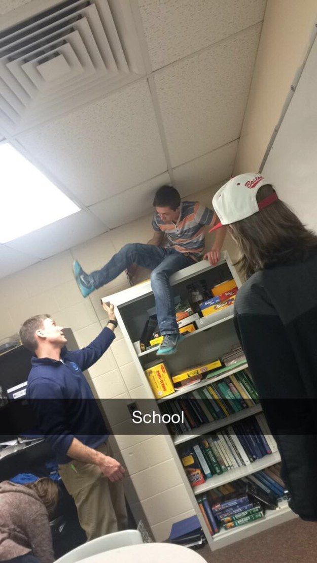 This guy. He's so done. | 19 Teachers Who Are So, So Tired