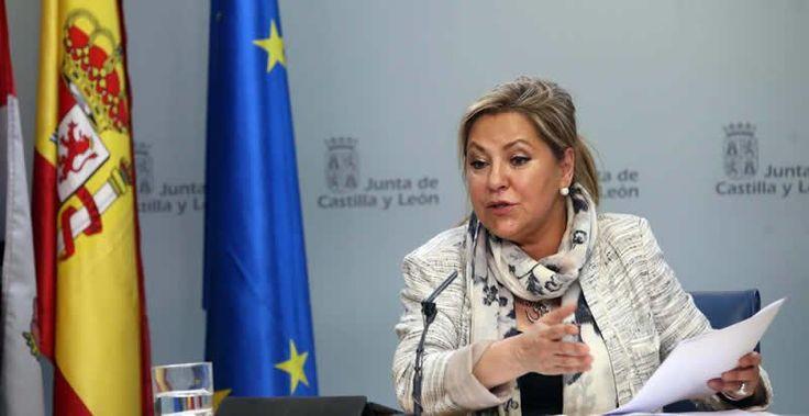 La vicepresidenta de Castilla y León triplica la tasa de alcoholemia después de un golpe con un camión