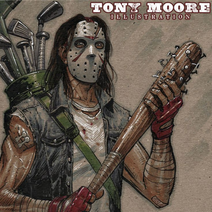 Sketch of the Day! CASEY JONES — TONY MOORE ILLUSTRATION