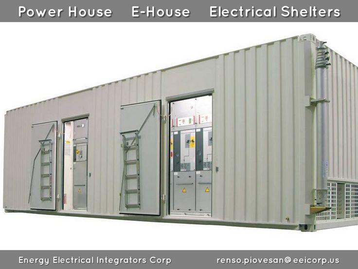 Power House Venezuela. E-House Venezuela. Electrical Shelters Venezuela. Centro de Distribucion de Potencia Movil Venezuela. E-House enclosures for Solar Inverters Venezuela.