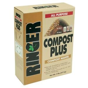 @Marce Finster Ringer 2 lbs. Compost Plus Compost Maker-3050 at The Home Depot