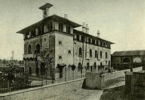 La bicocca degli Arcimboldi nel 1900 circa