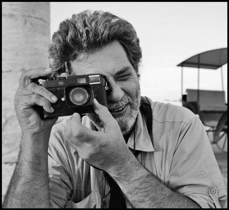 Nikos Economopoulos with Camera