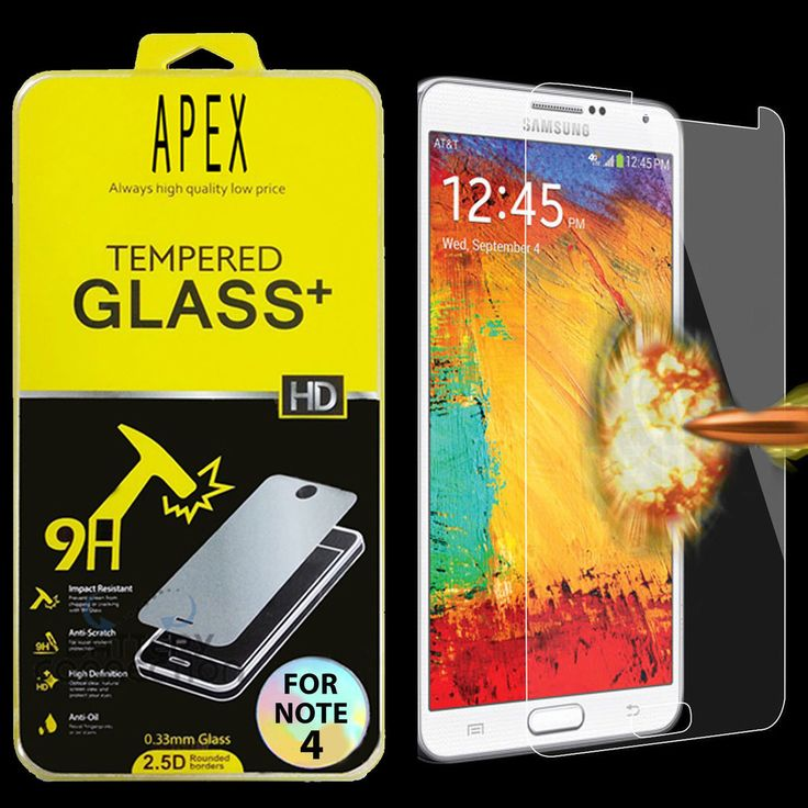 Premium Real Tempered Glass Film Screen Protector for Samsung Galaxy Note 4  #samsung #samsungmobile #screenprotector #samsungscreen