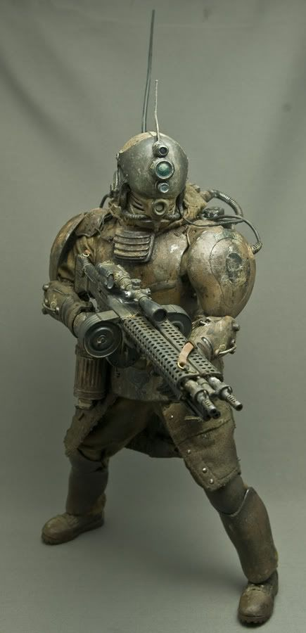 Steampunk 1/6 scale action figures