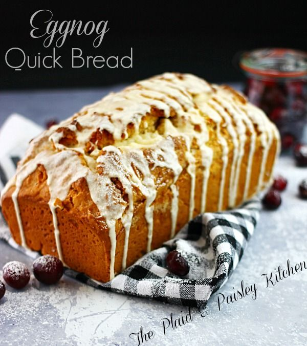 Eggnog Bread is the Best Christmas Morning Breakfast You Will Ever Have! I know that you will be thanking me for bringing this to you! When I say this is the perfect Breakfast for Christmas morning I am not joking.... not one little bit!