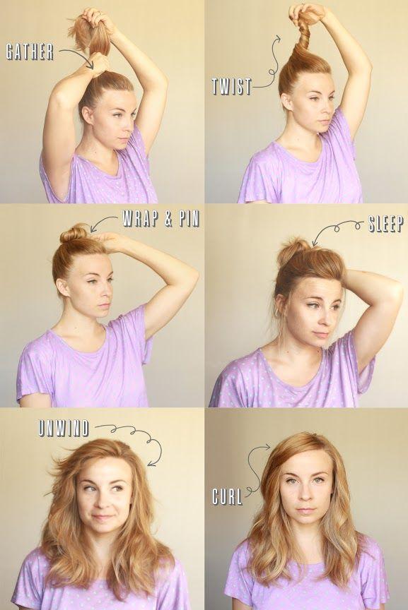 Phenomenal Hairstyles Without Heat Short Hairstyles Gunalazisus