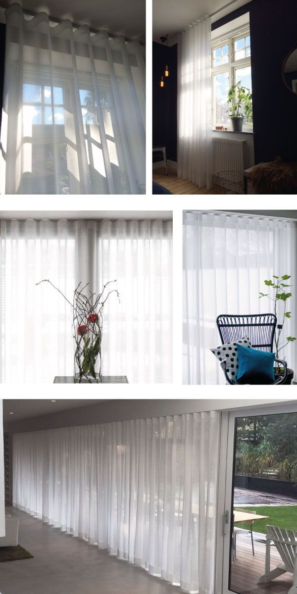 fönstret ab - tyg & solskydd - Lund Silent Gliss, Baumann Valilla