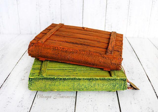 Деревянные блокноты. Разминка