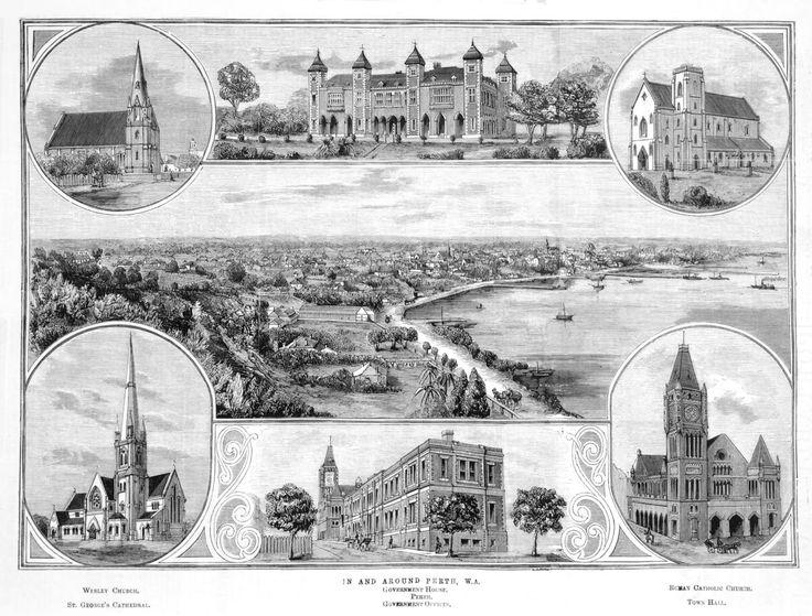 In and Around Perth Western Australia 1884