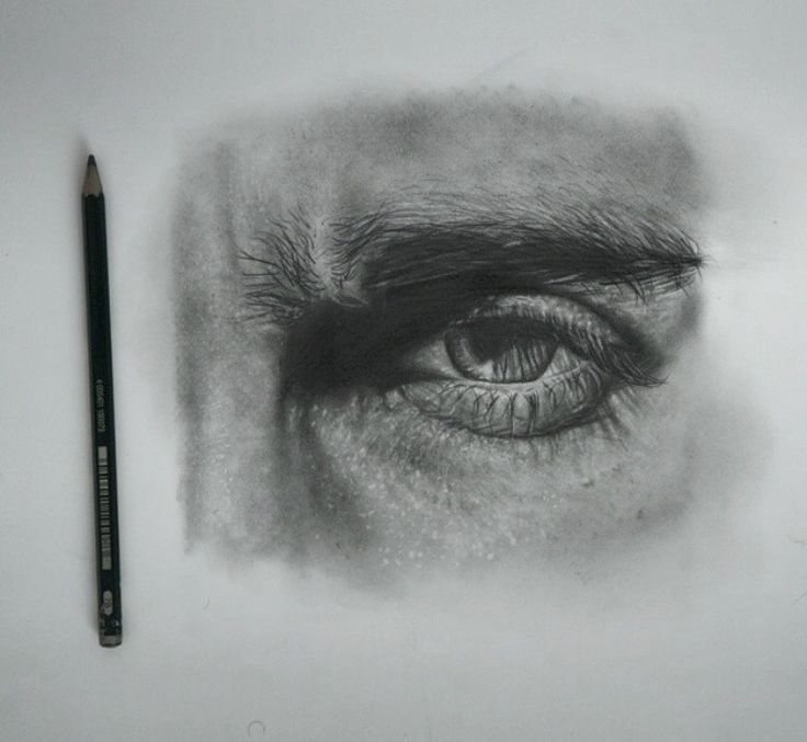 Drawing by pencil