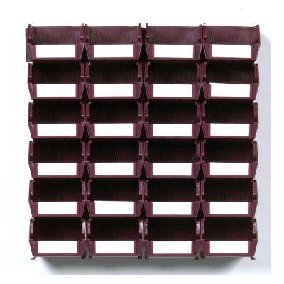 Triton LocBin 26 Piece Wall Storage System Raspberry - 3-210RBWS