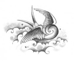 A swallow tattoo is a traditional tattoo.  Swallow tattoos are beautiful and have a deeper meaning.  This lens is created to explain the symbolism...