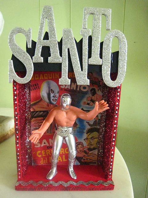 El Santo Lucha Libre Shrine by La Chusma, via Flickr