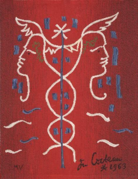 """""""Le caducée"""" von Jean Cocteau"""
