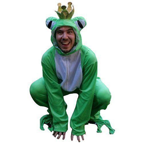 Froschkönig Kostüm, Froschkostüm für Erwachsene zum Fasching