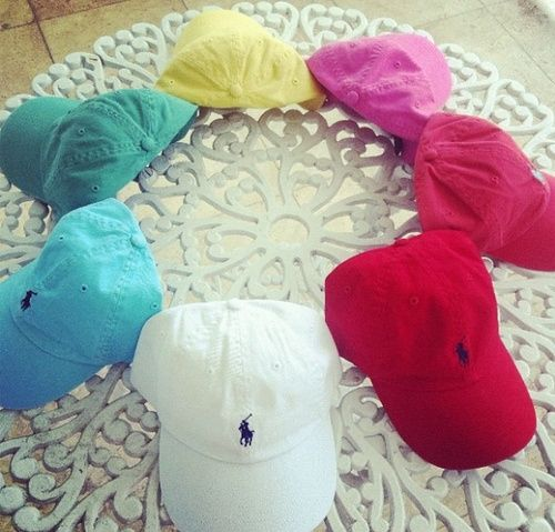 polo hats for days