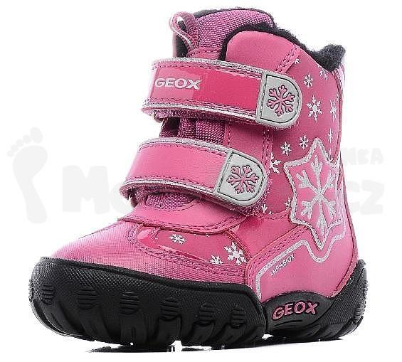 GEOX dětské boty B GULP B GIRL ABX DK FUCHSIA - dětské oblečení a obuv | modadeti.cz
